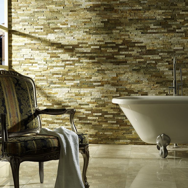 The Luxurious Slate Split Face Tile Is Created From A Refined Source Of Natural Quartzite With Unique Crystallised Particles Which Create Spectacular
