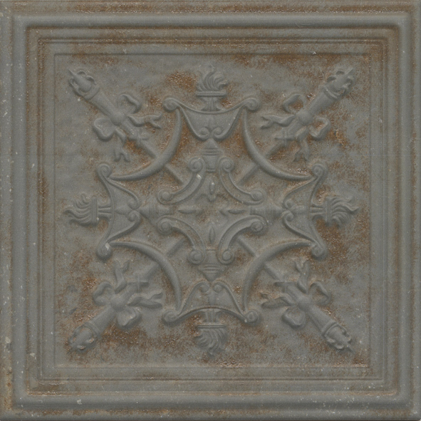 Gatsbty Ceramic 3 Dimensional Tin Effect Wall Tile Nick